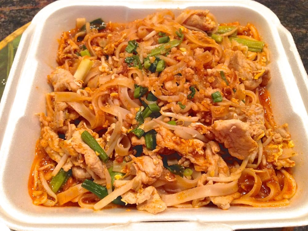 how to cook pad thai chicken noodles