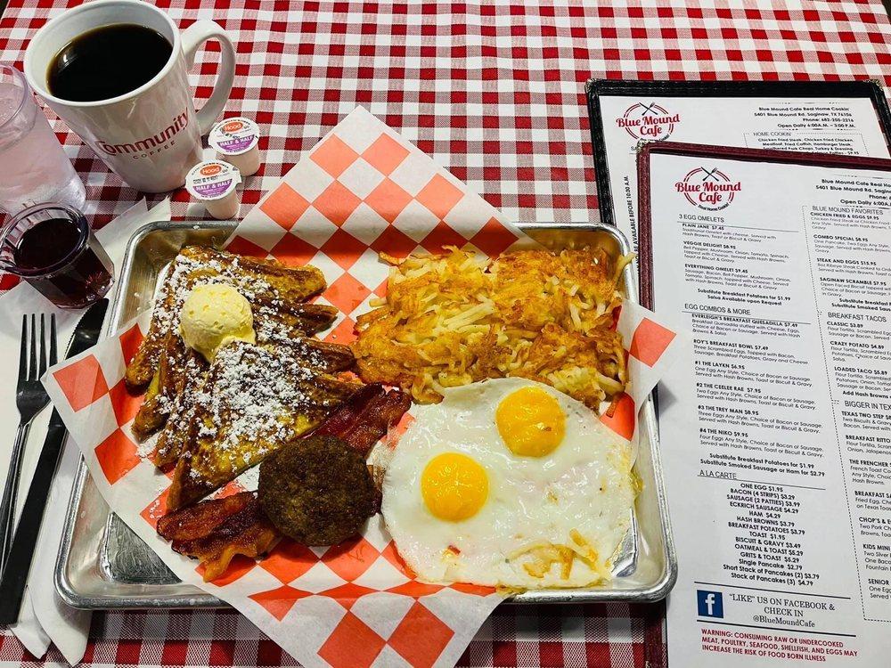 Blue Mound Cafe: 5401 Blue Mound Rd, Saginaw, TX