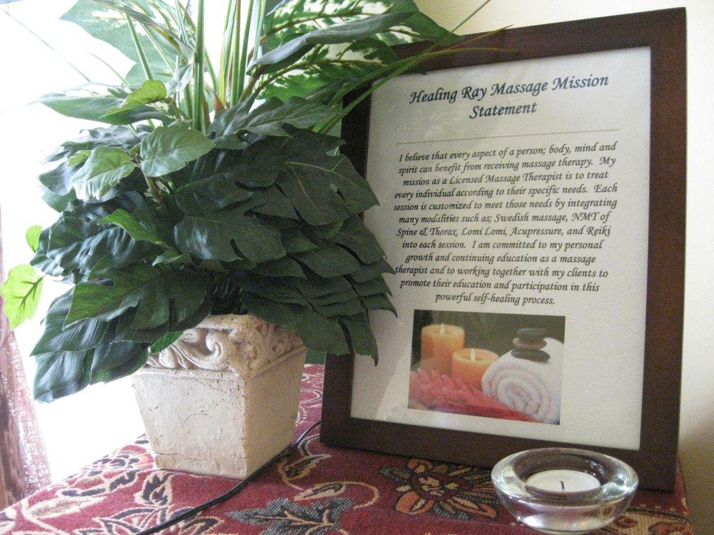 Healing Ray Massage: 242 Michigan St, Sturgeon Bay, WI