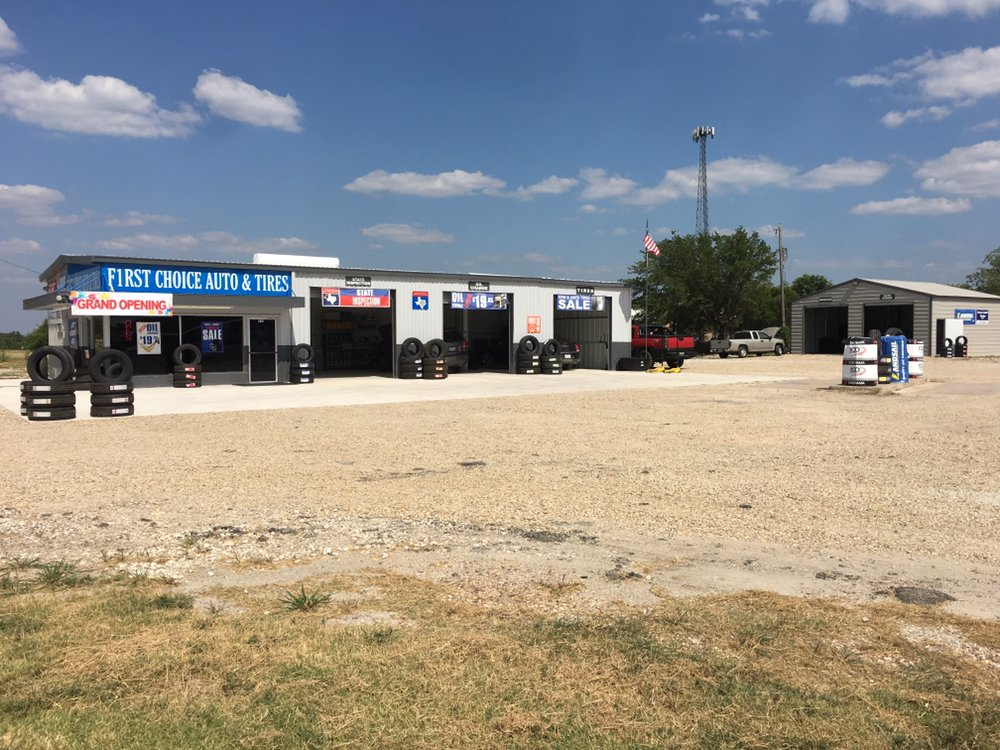 First Choice Auto and Tires: 717 N US 69, Trenton, TX