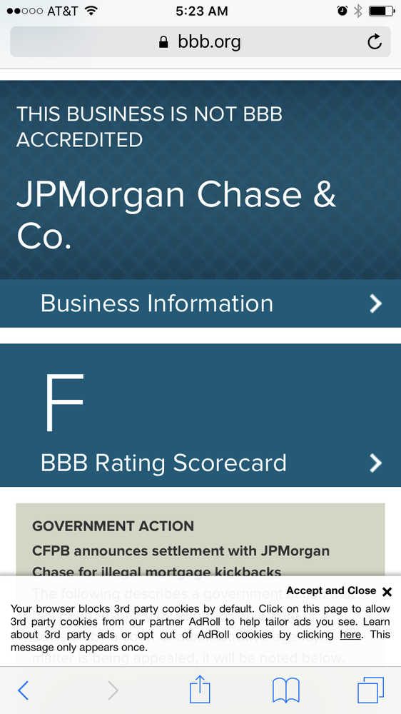 JP Morgan Chase - Financial Services - Downtown, Baltimore, MD - Yelp