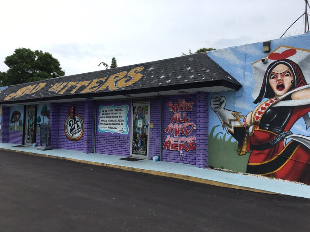 Mad Hatters Ethnobotanical Kava Bar: 4685 28th St N, Saint Petersburg, FL