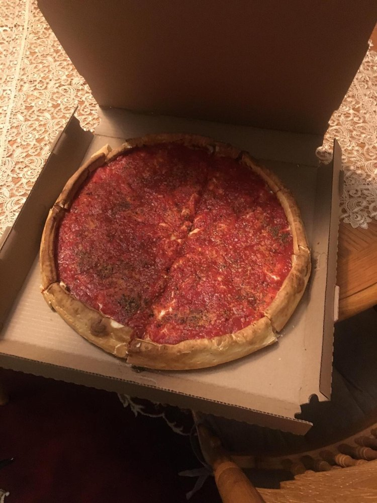 Santis Pizza: 733 Aurora Ave, Aurora, IL