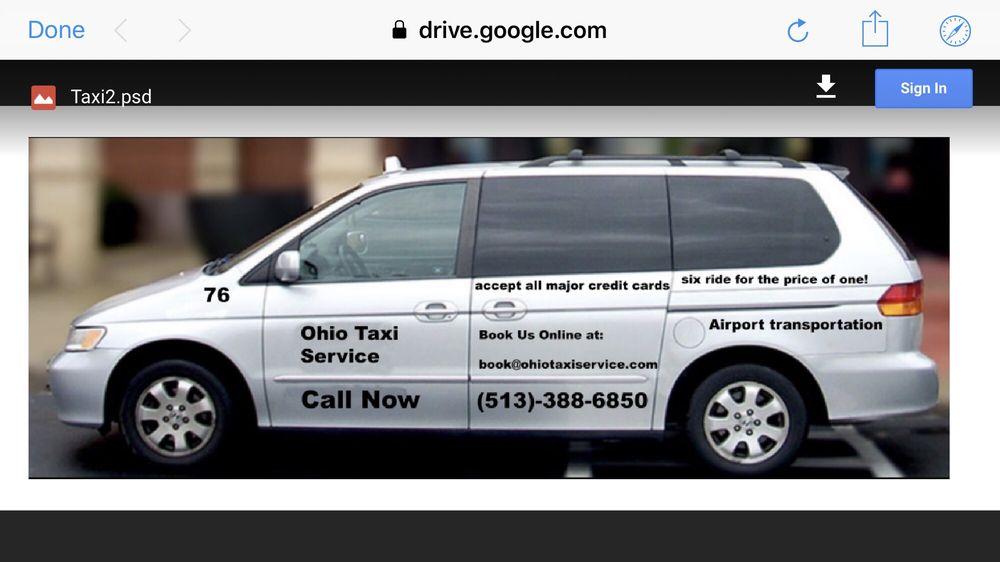 Ohio Taxi Service: 1123 Carmania Ave, Cincinnati, OH