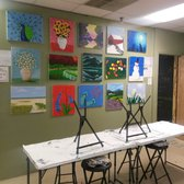 Artistic abandon 21 photos 33 reviews art galleries for Paint and wine raleigh