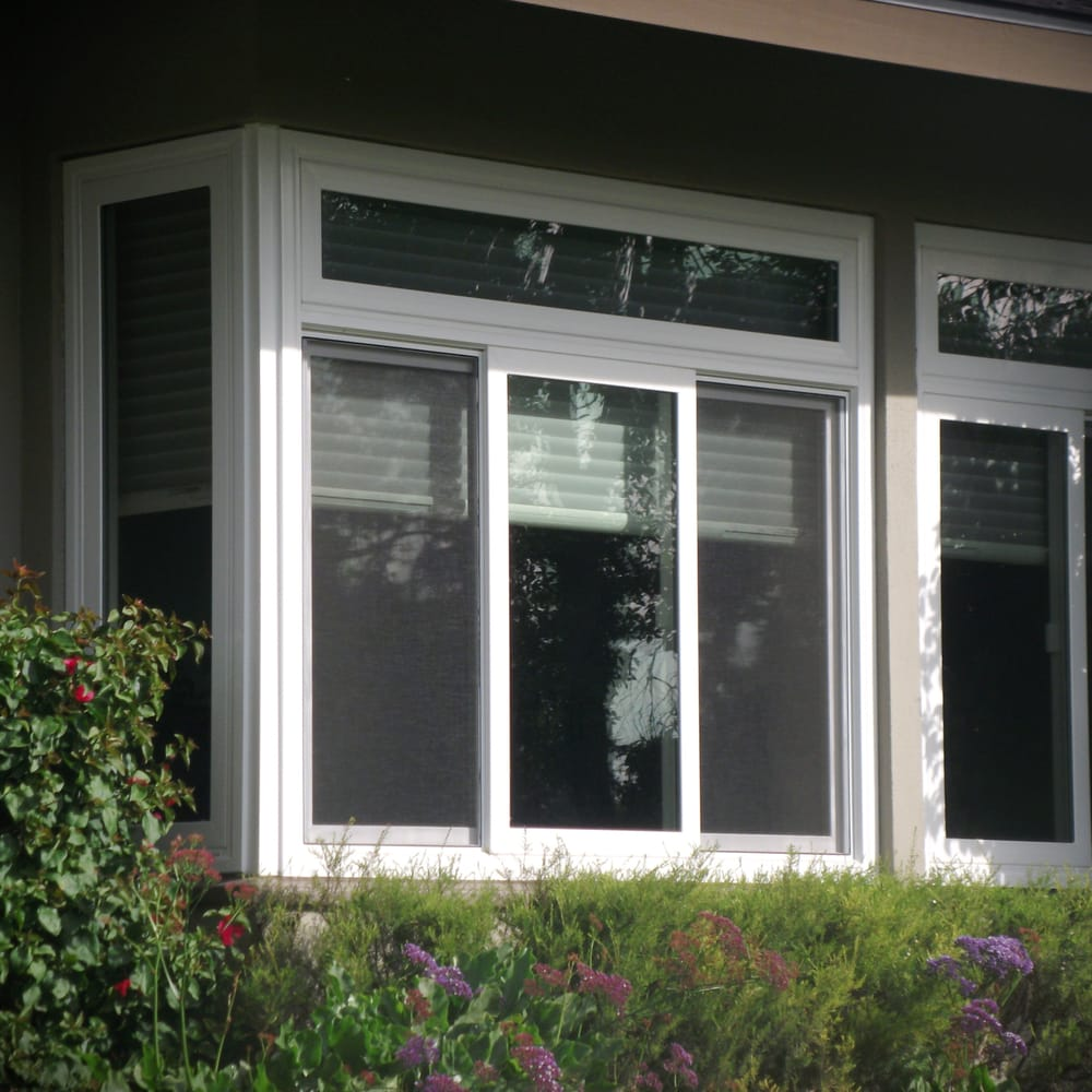Milgard tuscany white vinyl windows yelp for Milgard vinyl windows