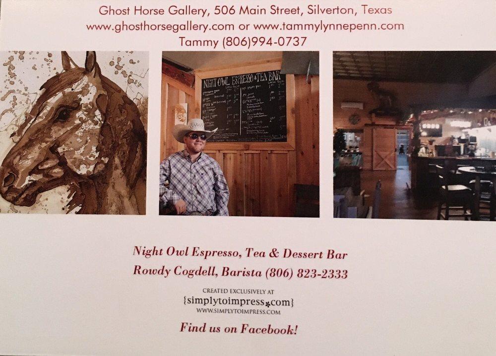 Night Owl Espresso: 506 Main St, Silverton, TX