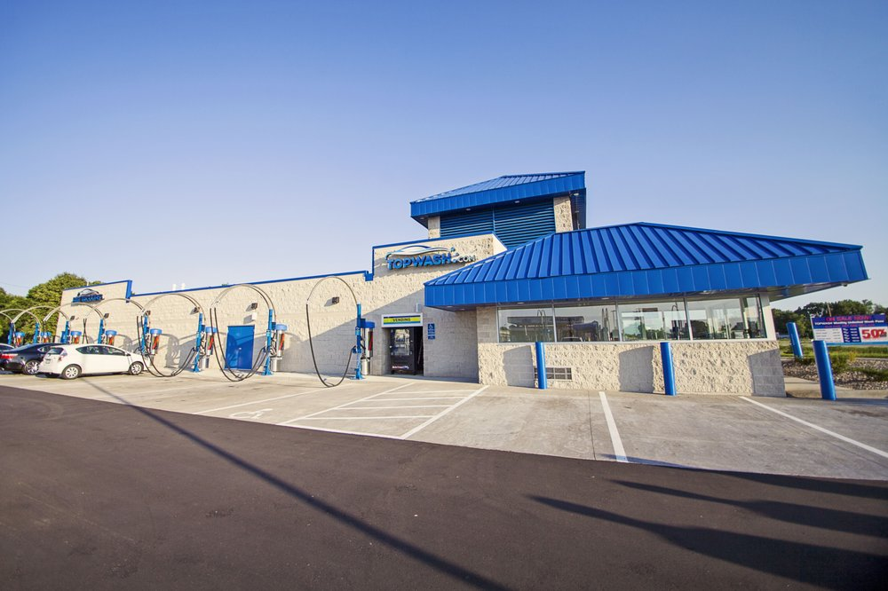 Top Wash: 7699 Hwy 65 NE, Fridley, MN