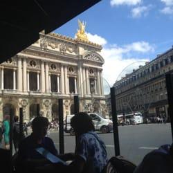 Café de la Paix - Paris, France. This is one of the views you'll enjoy while visiting here..