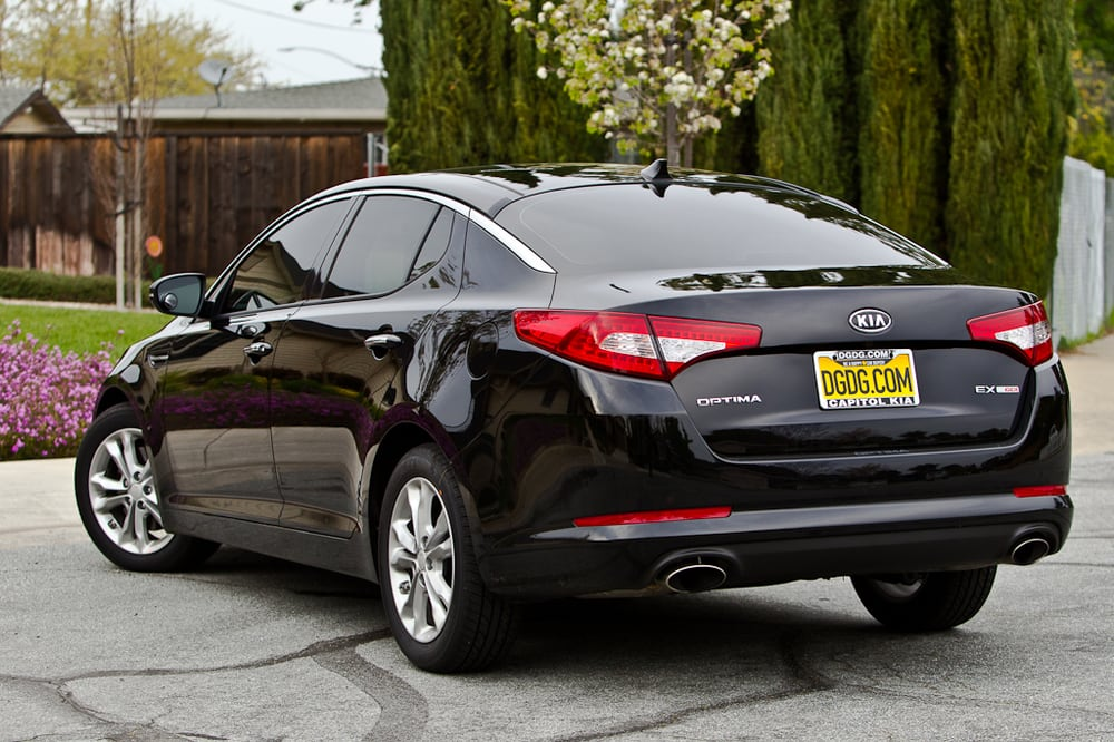 2012 Kia Optima EX Turbo Tinted By CA Auto Tinting   Yelp