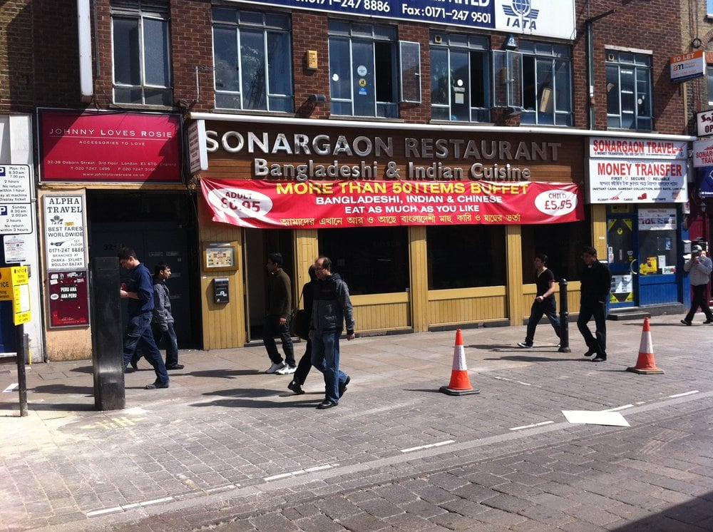 Sonargaon Restaurant London