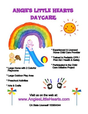 daycare ad
