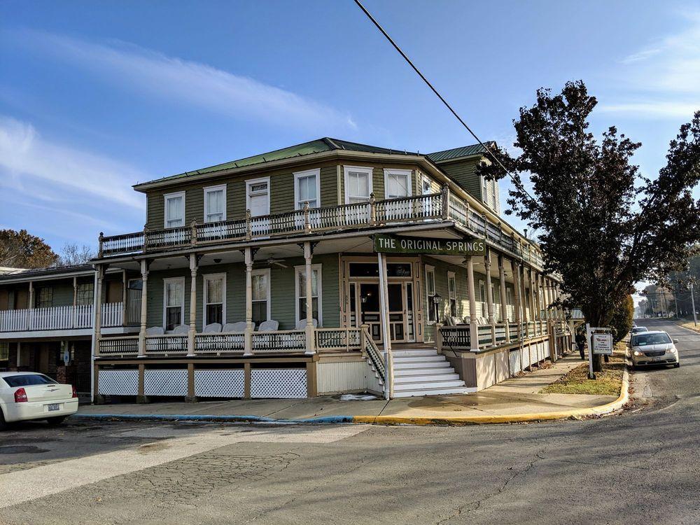 Original Springs Hotel: 506 North Hanover, Okawville, IL