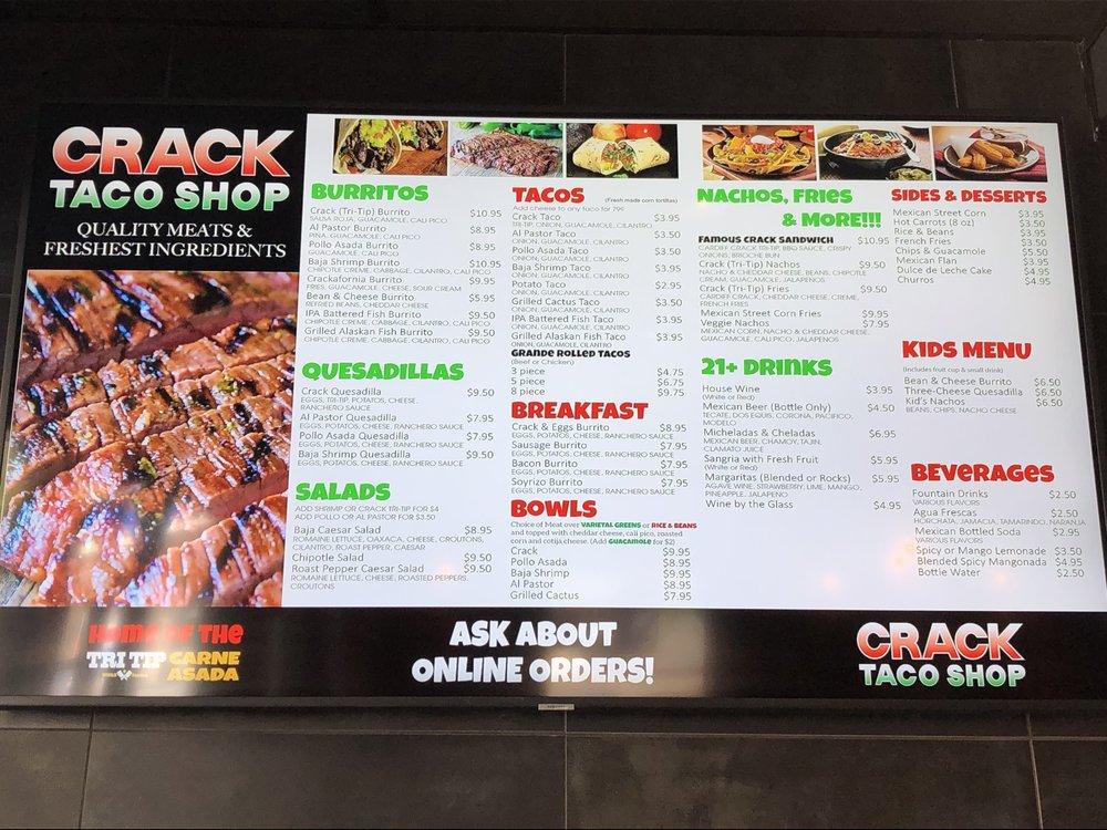 CRACK Taco Shop