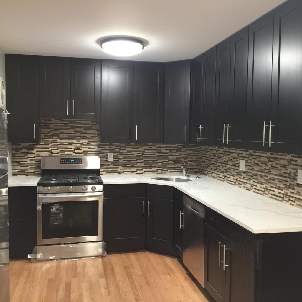 The Kitchen In Long Island Has Completely Being Redone