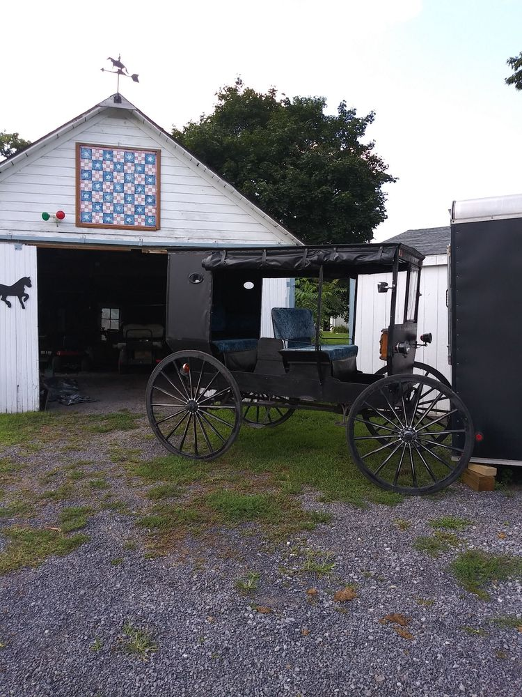 Dayze Gone Bye Carriage Rides: 41 Water St, Allensville, PA