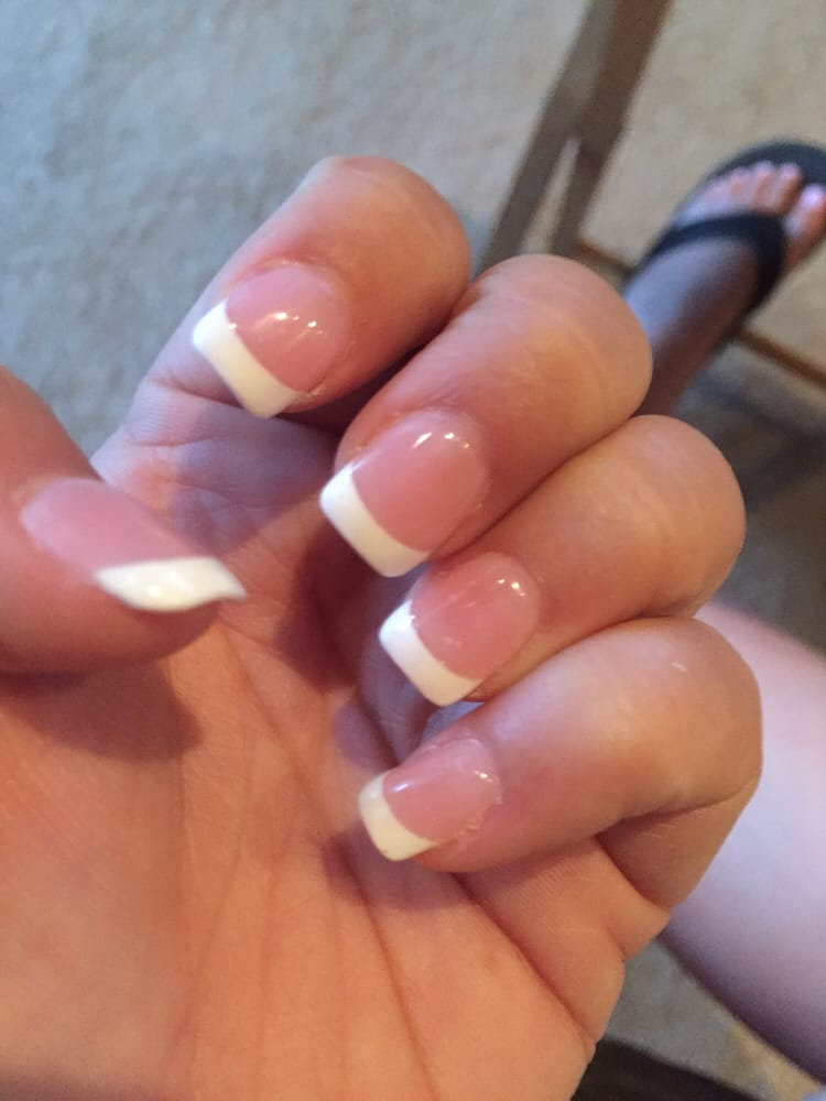 Nexgen Nails French Manicure: Nexgen Liquid Nails With Tip! Better For Nails And Look So