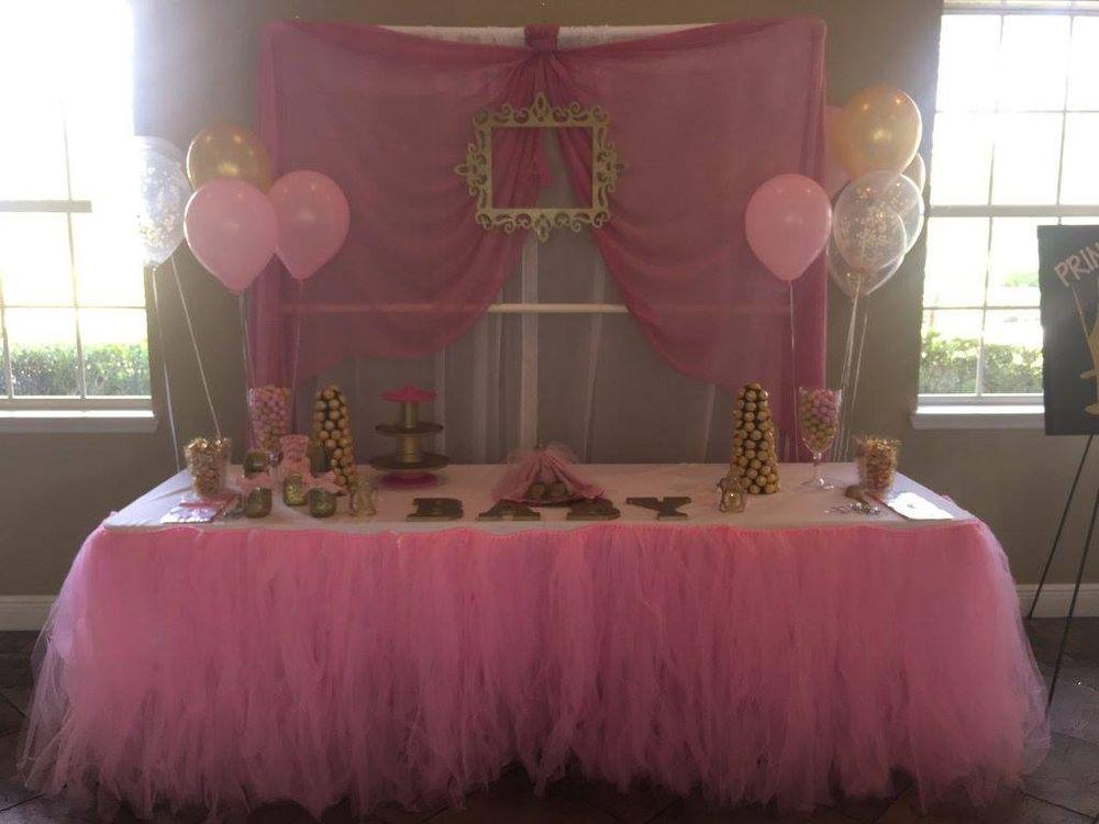 tutu themed baby shower