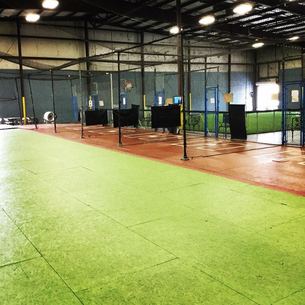 Lebron's Indoor Batting Cages