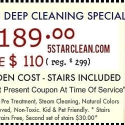 5 Star Carpet Cleaning 150 Main St Pioneer Square