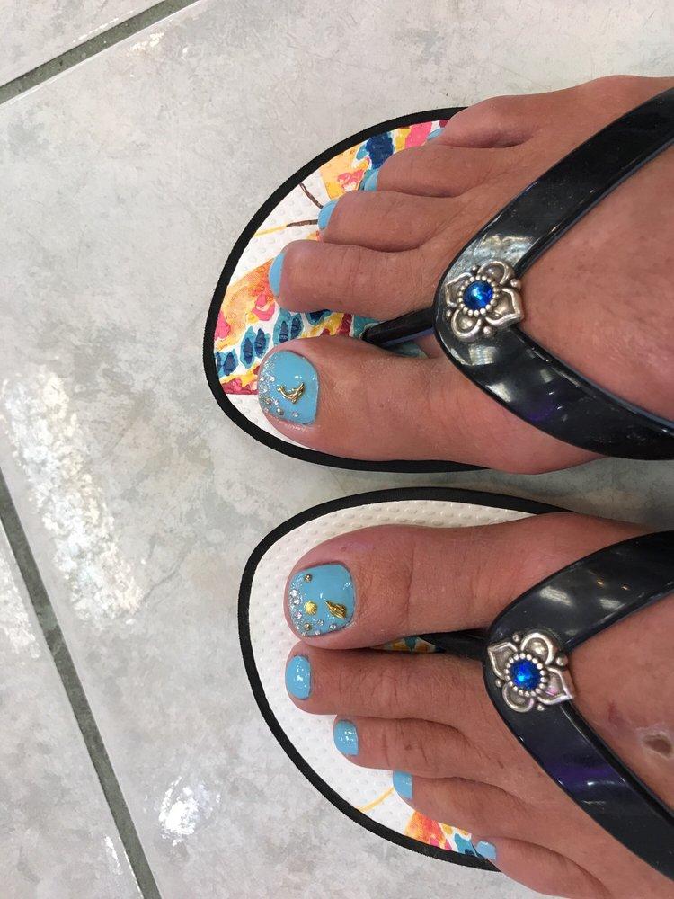 La Nails: 153 Fm 518 Rd, Kemah, TX