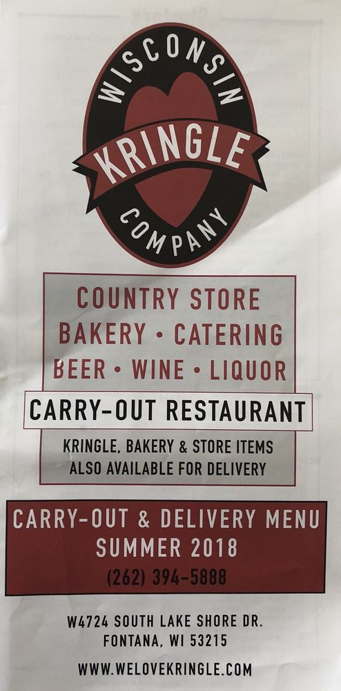 Wisconsin Kringle Company: W4724 S Lake Shore Dr, Fontana-on-Geneva Lake, WI