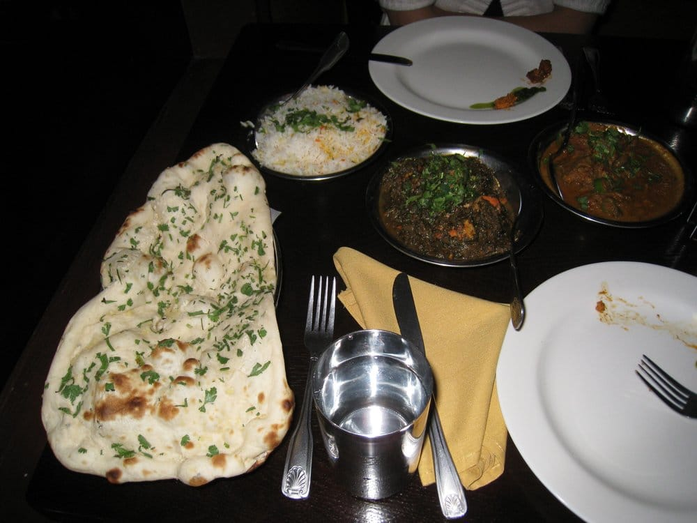Garlic naan rice chicken tikki saag pepper lamb yelp for Akbar cuisine of india pasadena ca