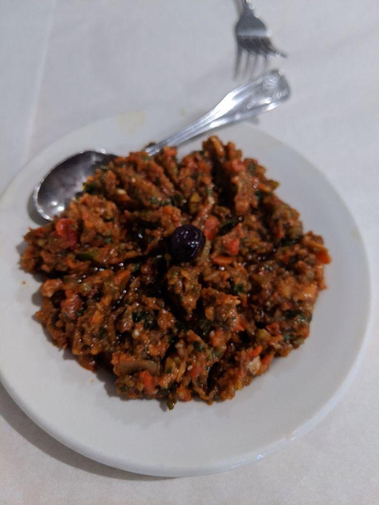 Food from Sultan's Turkish Restaurant
