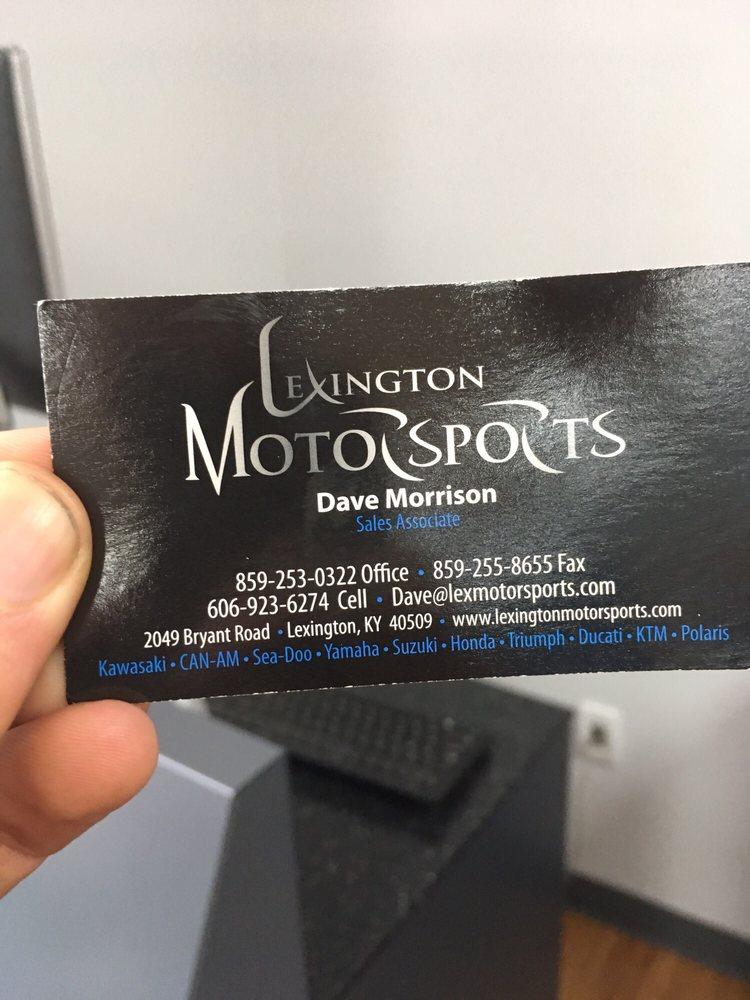 Lexington Motorsports: 2049 Bryant Rd, Lexington, KY