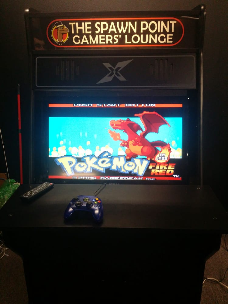 New Gen Arcade Cabinet With Modded Xbox In It Playen Some