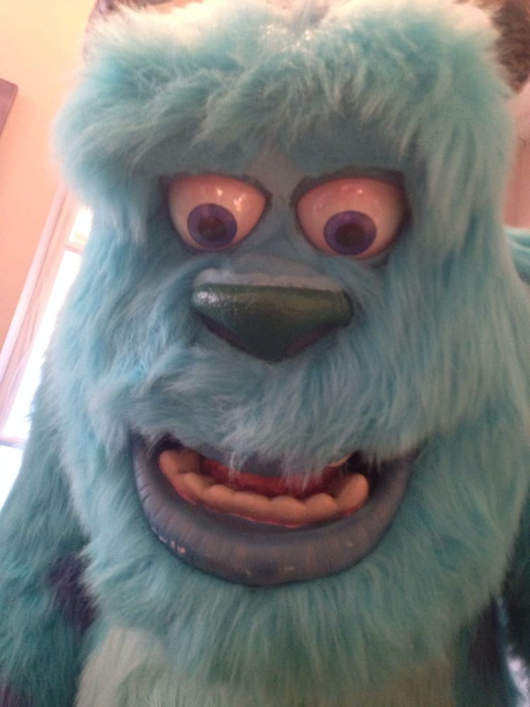 My kids LOVED that they had the huge Monsters Inc characters