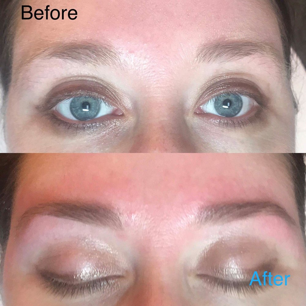 Before/after eyebrow shape & tint - Yelp