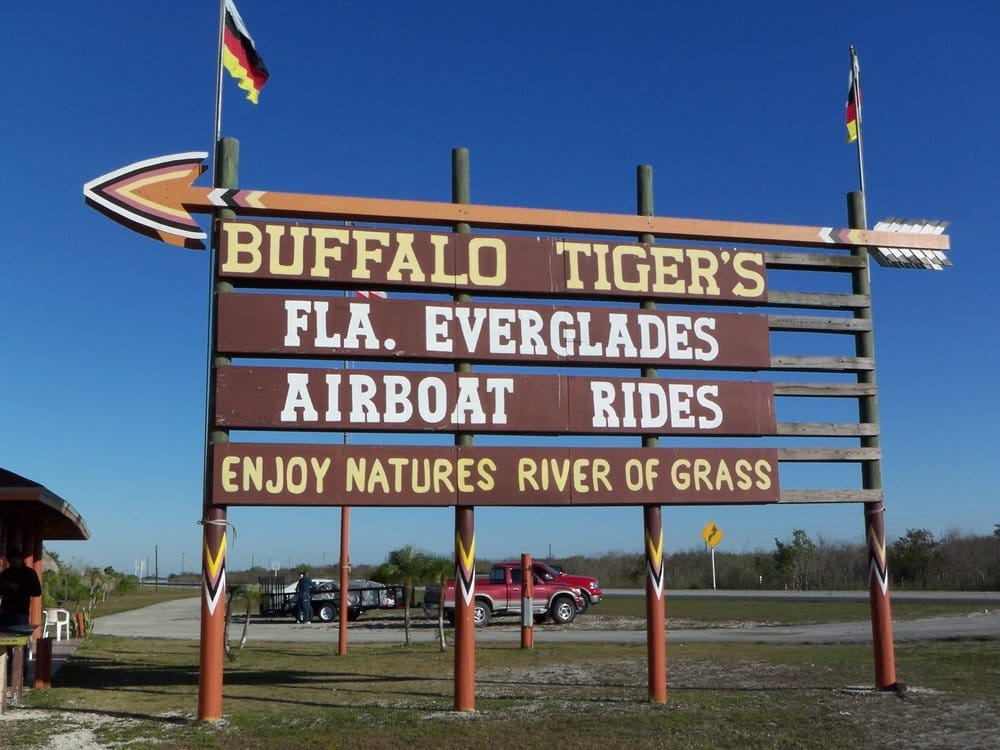 Buffalo Tigers Fl Everglades Airboat Tours: 29701 Sw 8th St, Miami, FL
