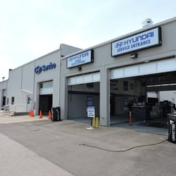 Photo Of Sansone Hyundai   Avenel, NJ, United States. Sansone Hyundai  Service Entrance