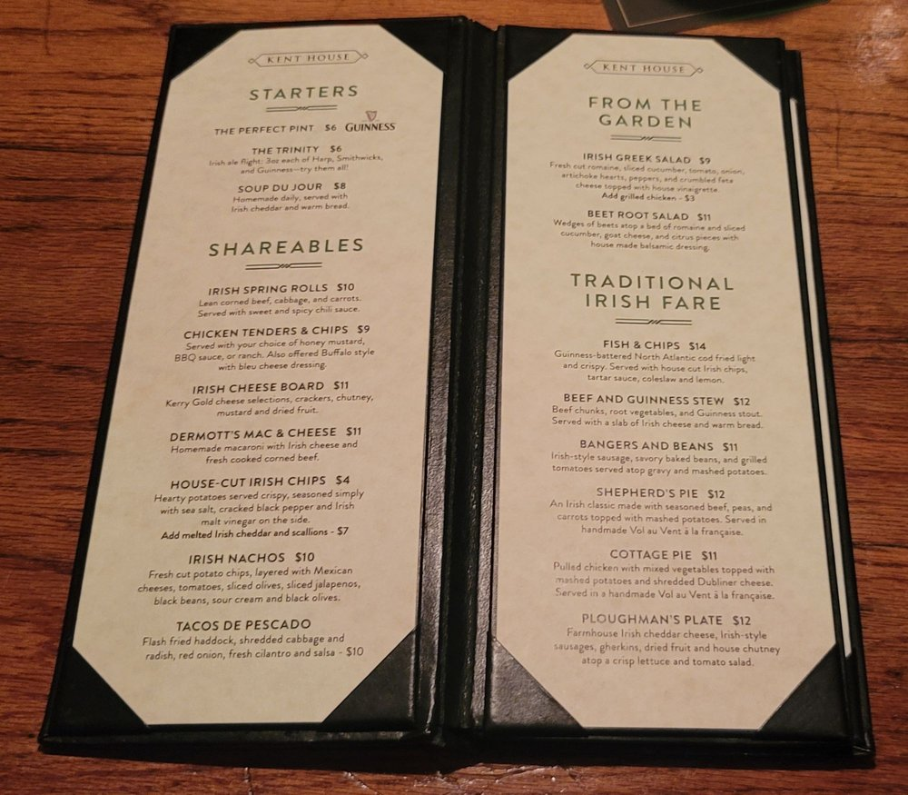Social Spots from Kent House Irish Pub