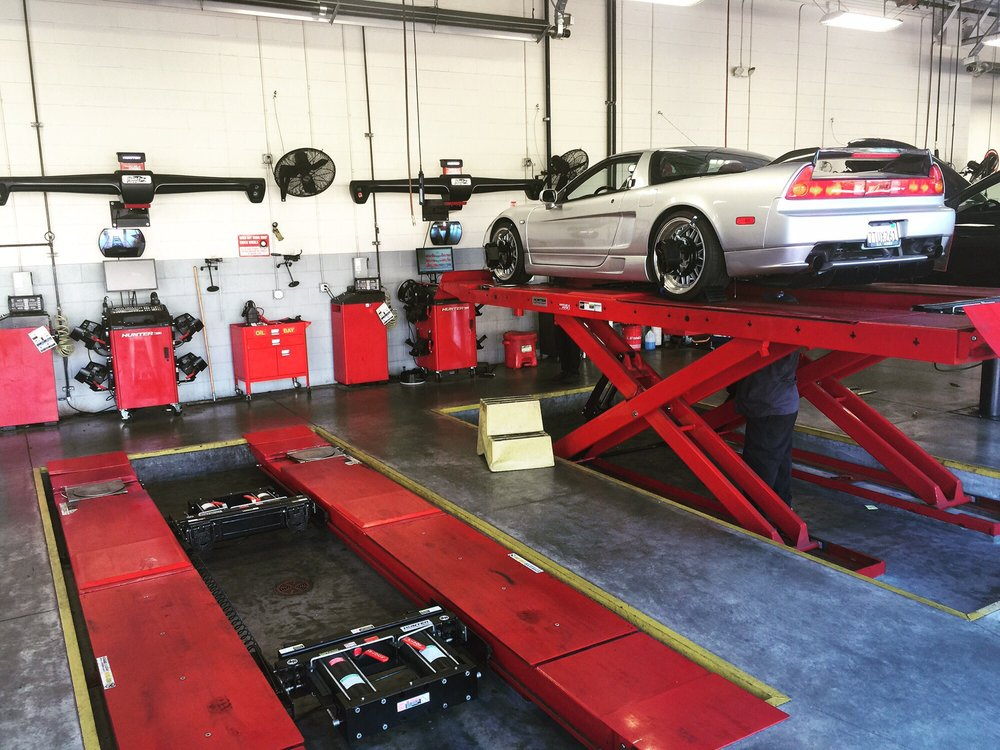 The Best Alignment For Lowered Cars Just Drive Right Onto The