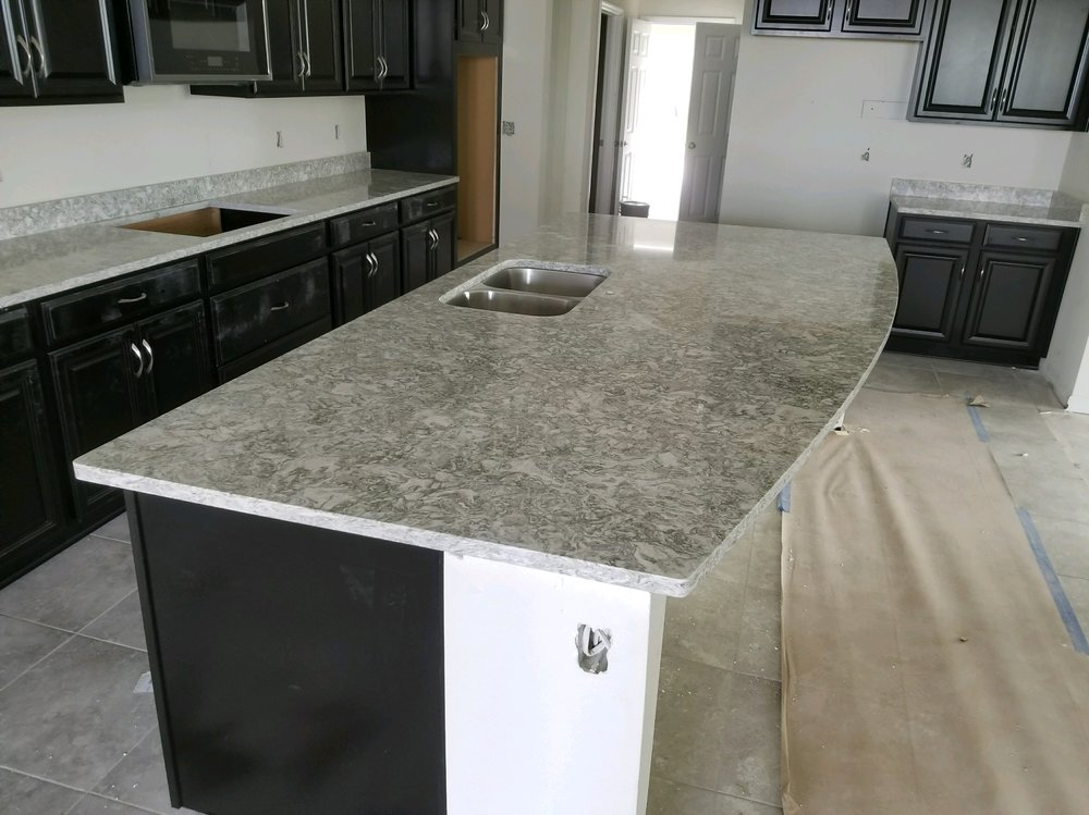 Cambria Berwyn quartz kitchen counter tops in Riverview Fl - Yelp