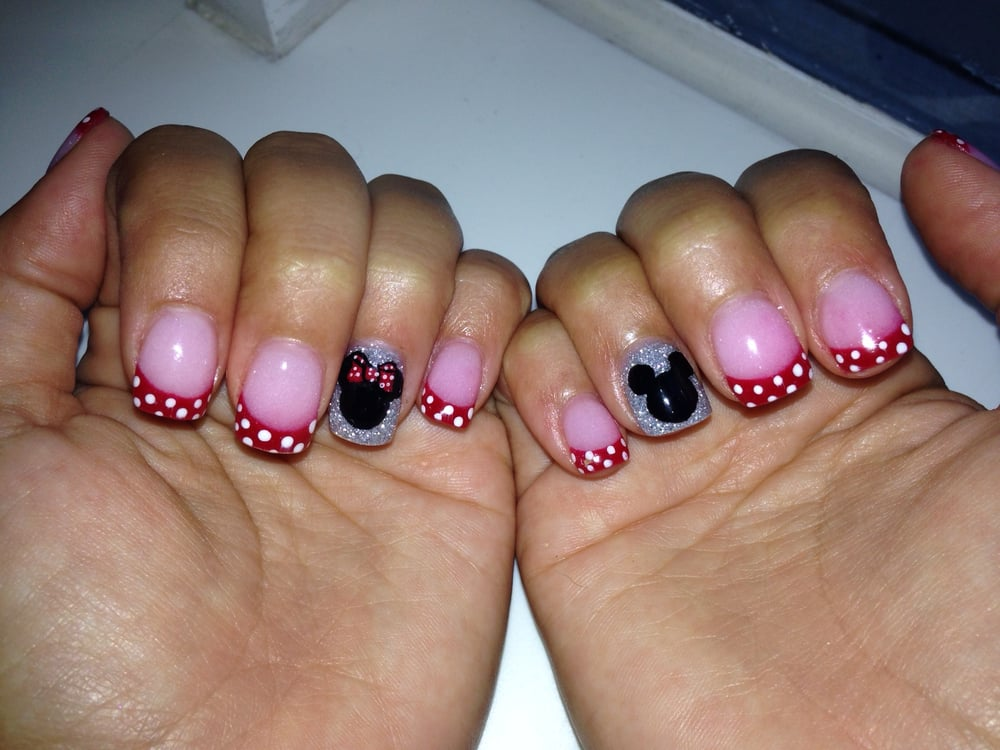 Nexgen with Disney nail art by Audrey. Can\'t stop looking at what an ...