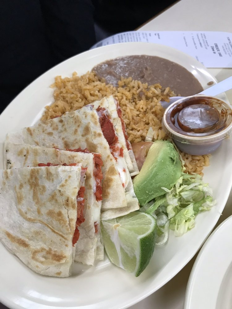 Chicken Quesadilla Meal Yelp