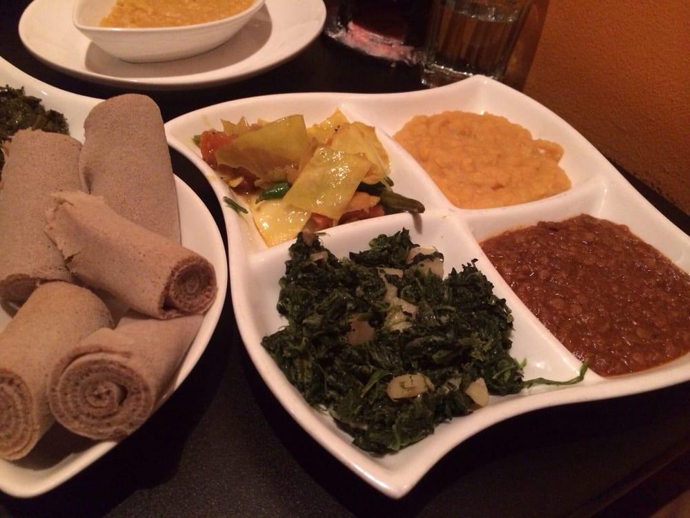 Lucy S Ethiopian Cafe Menu