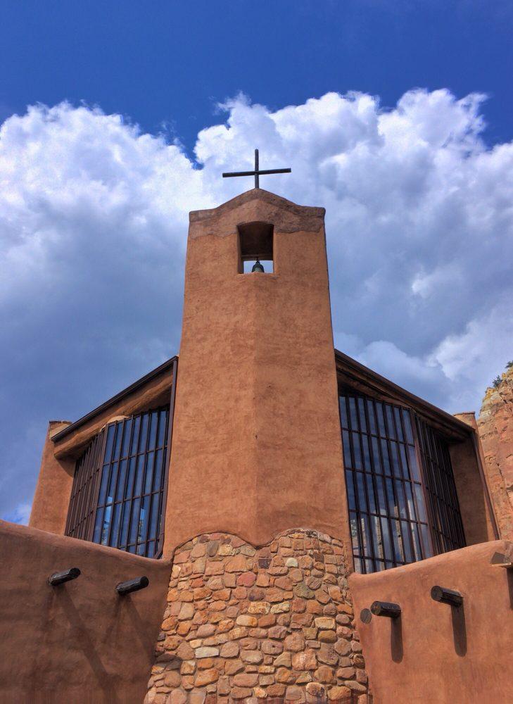 Christ in the Desert: Forest Rd 151, Abiquiu, NM