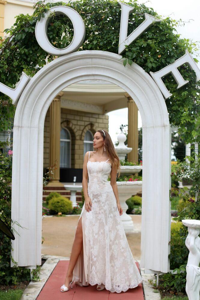purchase cheap 56c02 6f30f Abito da sposa modello Lia - Yelp