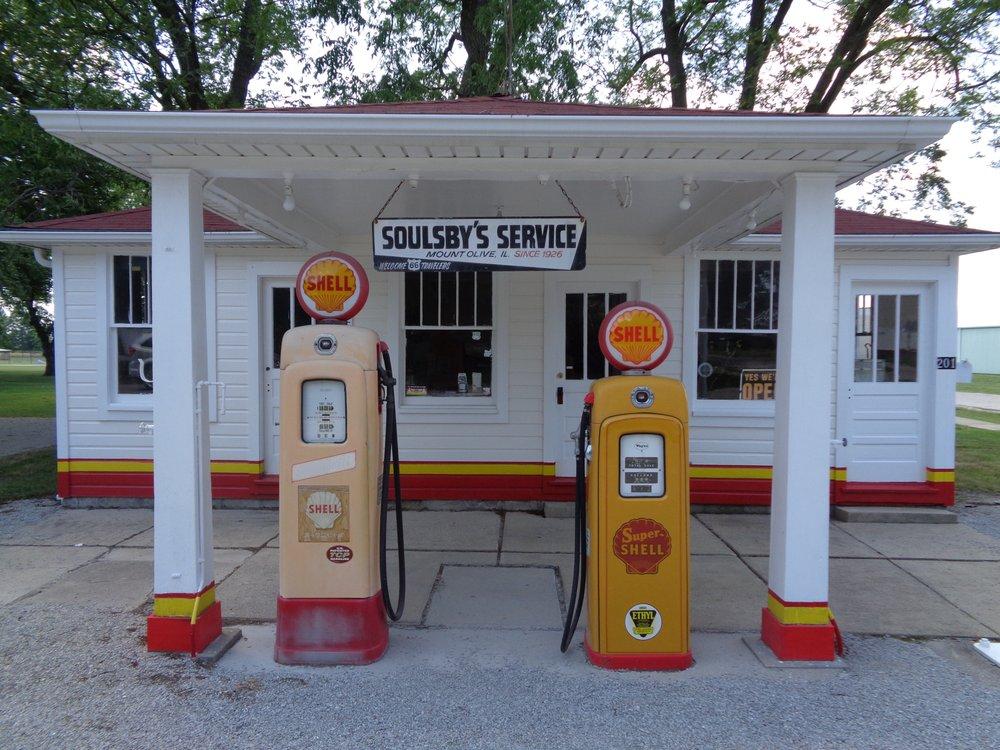 Soulsby's Service Station: 710 W 1st St, Mount Olive, IL