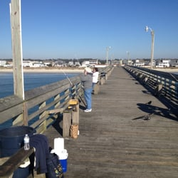 Photo Of Holden Beach Fishing Pier Supply Nc United States Looking Down