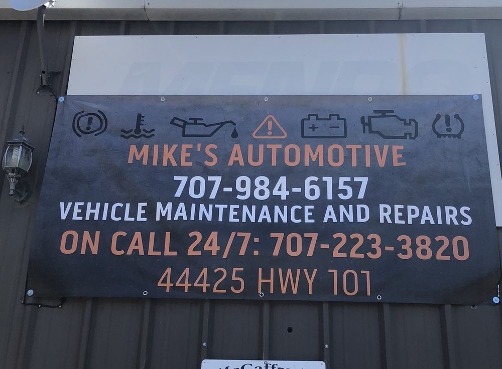 Mike's Automotive: 44425 Hwy 101, Laytonville, CA