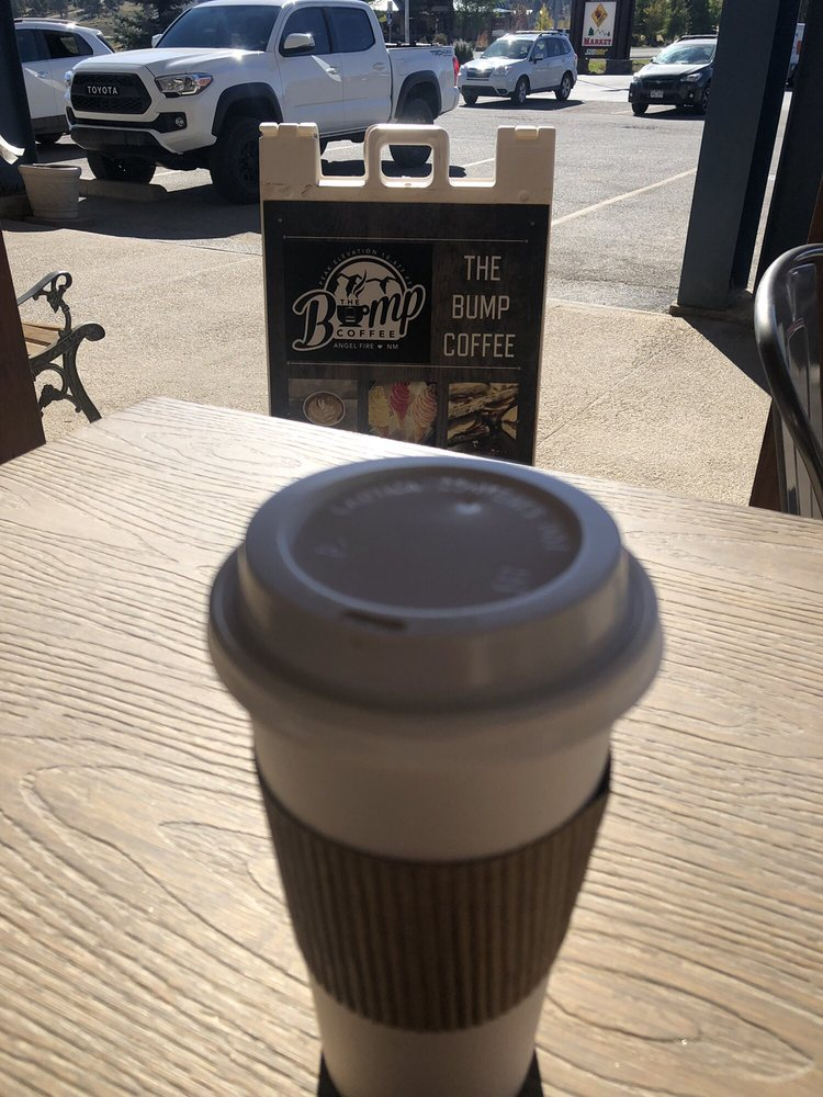 The Bump Coffee: 3375 Mountain View Blvd, Angel Fire, NM