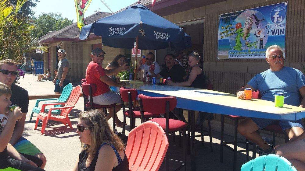 The Cabana Beach Bar: 3 Beach Rd, Plattsburgh, NY
