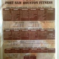 Fort Sam Houston Jimmy Brought Fitness Center logo