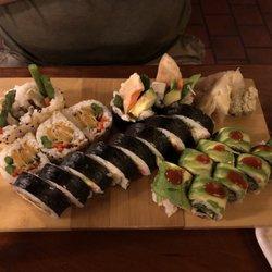 Photo Of Heiwa Shokudo Asheville Nc United States Veggie Sushi