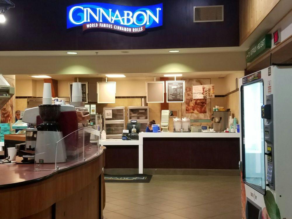 Cinnabon: 447 I-90, Angola, NY